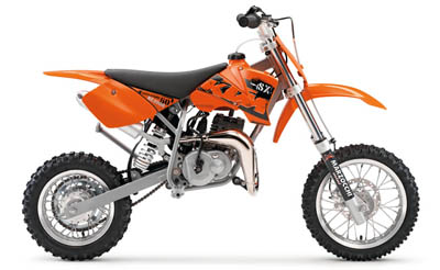 2002 2008 ktm 50 senior adventure model designed for generall off road riding for kids up to nine years old